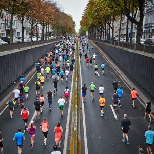 Marathon physio